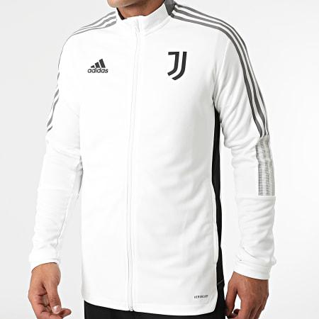 adidas - Ensemble De Survetement A Bandes Juventus GR2965 Noir Ecru