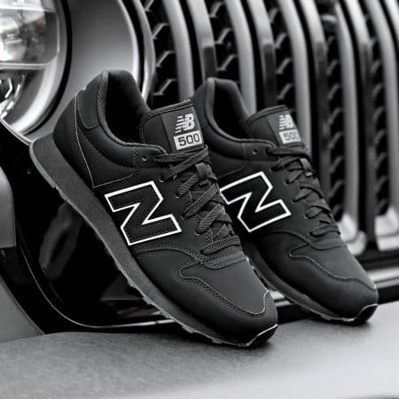 New Balance - Baskets Lifestyle GM500TRB Black