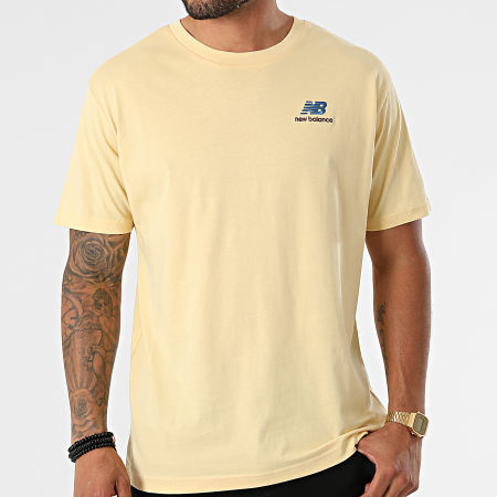 New Balance - Tee Shirt MT11592 Jaune