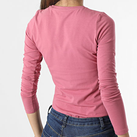 Pepe Jeans - Tee Shirt Manches Longues Femme New Virginia Rose