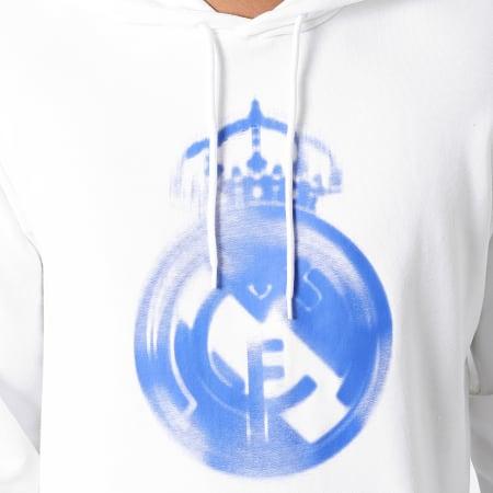 adidas - Sweat Capuche Real Madrid HD GR4247 Ecru