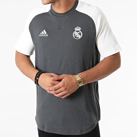 adidas - Tee Shirt Real Madrid GR4266 Gris Anthracite