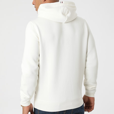 Tommy Hilfiger - Sweat Capuche Stacked Tommy Flag 7397 Beige