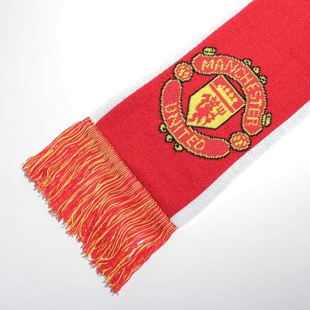 adidas - Echarpe Manchester United GU0121 Rouge