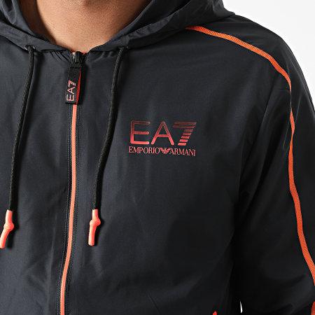 EA7 - Ensemble De Survetement 6KPV01-PN4HZ Gris Anthracite