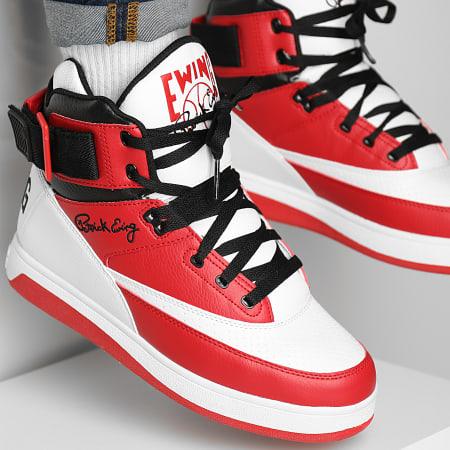 Ewing Athletics - Baskets 33 Hi 1BM01117 White Chinese Red Black
