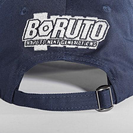 Boruto - Casquette Logo Bleu Marine