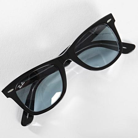 Ray-Ban - Lunettes De Soleil Wayfarer Classic 2140 Noir Bleu Dégradé