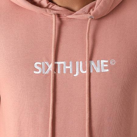 Sixth June - Ensemble De Survetement 22694ESE Rose Foncé