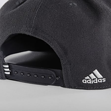 adidas - Casquette Snapback Real Madrid Snapback GU0067 Gris Anthracite