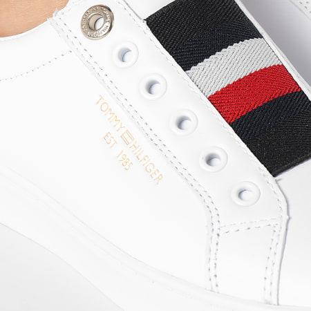 Tommy Hilfiger - Baskets Femme Icon Slip On 5918 White