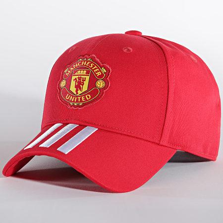 adidas - Casquette Manchester United Baseball GU0112 Rouge