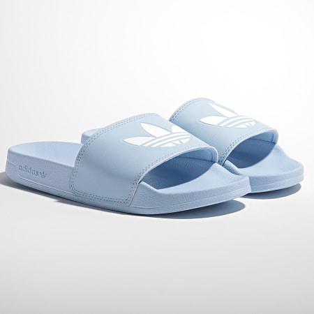 adidas - Claquettes Femme Adilette Lite H05681 Bleu Ciel