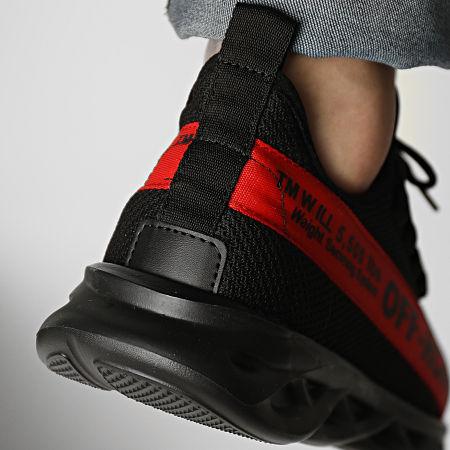 Classic Series - Baskets 02-31 Noir Rouge