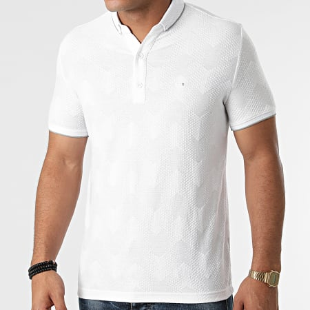 Classic Series - Polo Manches Courtes 21Y-1094 Blanc