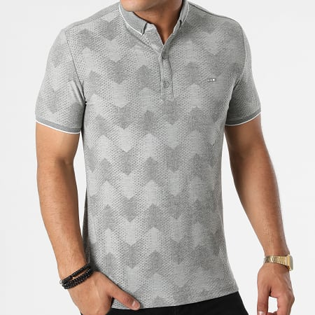 Classic Series - Polo Manches Courtes 21Y-1094 Gris