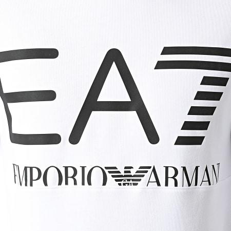 EA7 Emporio Armani - Sweat Crewneck 6KPM68-PJBWZ Blanc