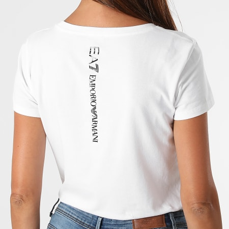 EA7 Emporio Armani - Tee Shirt Femme 8NTT63-TJ12Z Blanc