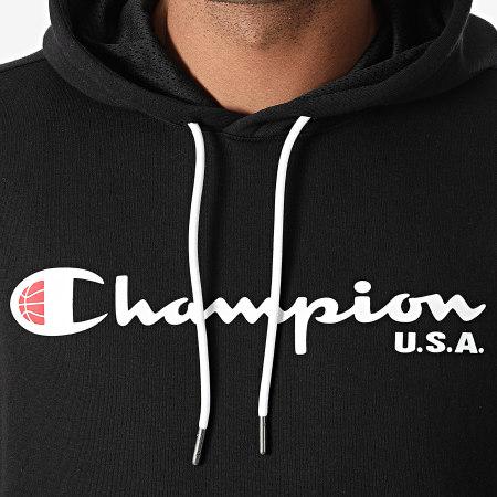 Champion - Sweat Capuche 216893 Noir