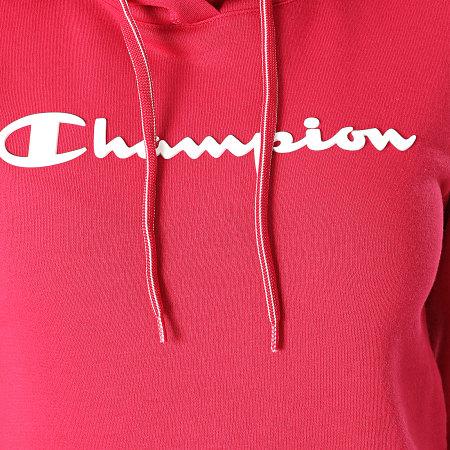 Champion - Sweat Capuche Femme 113207 Bordeaux