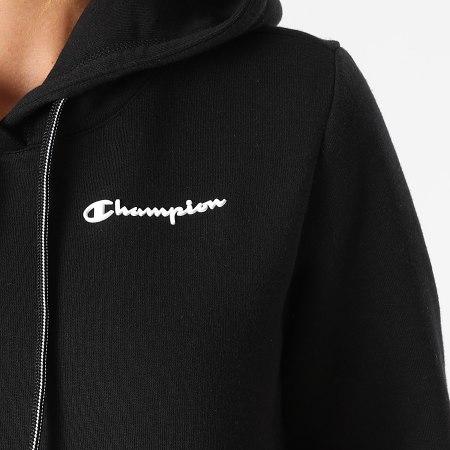 Champion - Sweat Capuche Femme 114416 Noir