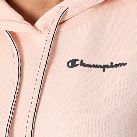 Champion - Sweat Capuche Femme 114416 Rose