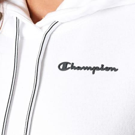 Champion - Sweat Capuche Femme 114416 Blanc