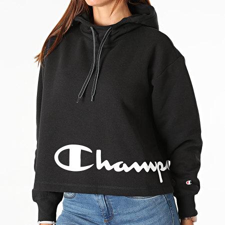 Champion - Sweat Capuche Femme 114418 Noir