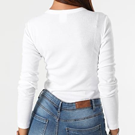 Champion - Tee Shirt Manches Longues Femme 114435 Blanc