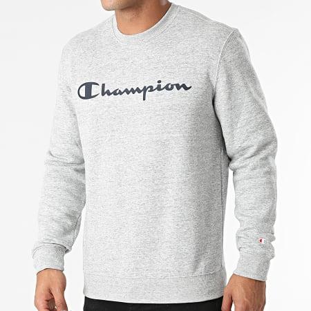 Champion - Sweat Crewneck 214744 Gris Chiné