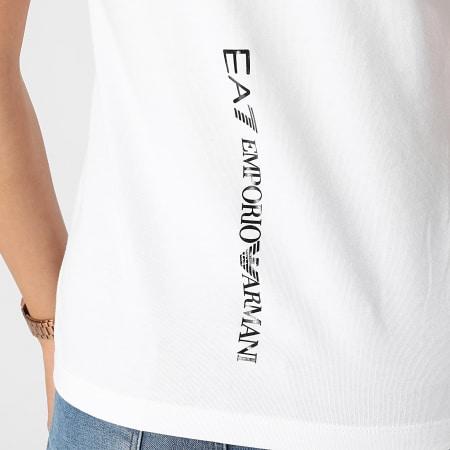 EA7 Emporio Armani - Tee Shirt Femme 6KTT18-TJ12Z Blanc