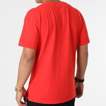 Tommy Jeans - Tee Shirt Linear Written Logo 0942 Rouge