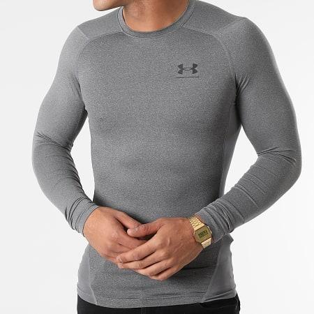 Under Armour - Tee Shirt De Sport Manches Longues 1361524 Gris Chiné