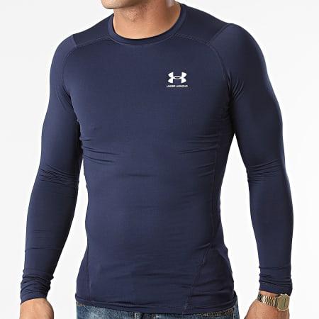 Under Armour - Tee Shirt De Sport Manches Longues 1361524 Bleu Marine
