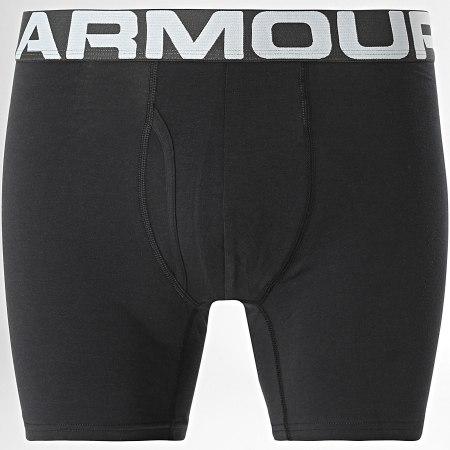 Under Armour - Lot De 3 Boxers Charged Cotton 1363617 Bleu Marine