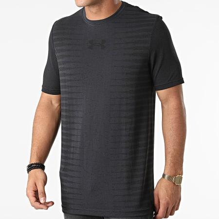 Under Armour - Tee Shirt De Sport 1366148 Gris Anthracite Noir