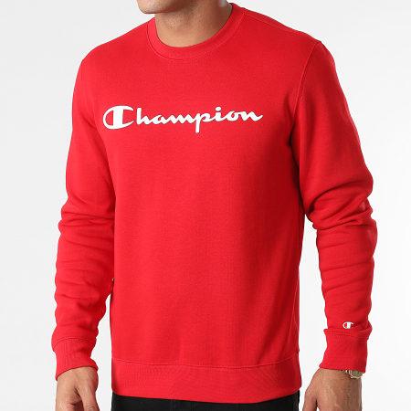 Champion - Sweat Crewneck 214744 Rouge