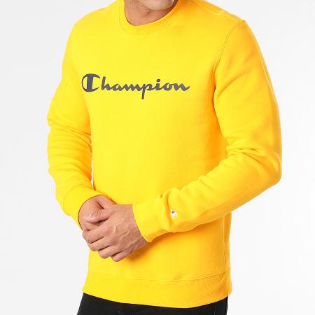 Champion - Sweat Crewneck 214744 Jaune