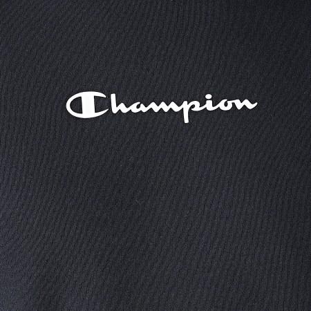 Champion - Sweat Crewneck A Bandes 216560 Bleu Marine
