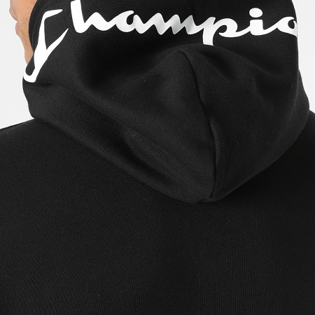 Champion - Sweat Capuche 216564 Noir Vert