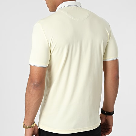 Classic Series - Polo Manches Courtes 21Y-1118 Jaune Pastel