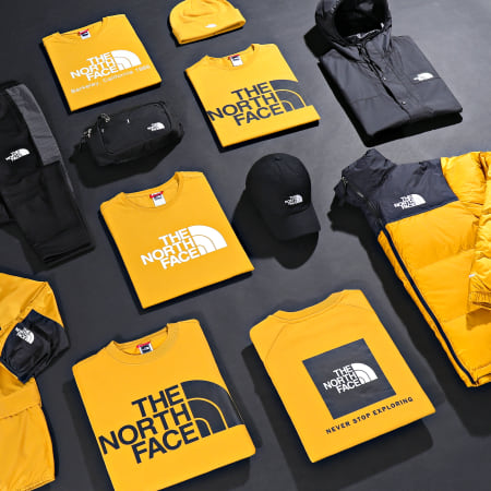 The North Face - Sweat Capuche Drew Peak 0AHJY Moutarde