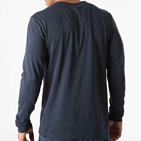 BOSS By Hugo Boss - Tee Shirt Manches Longues 50436179 Bleu Marine