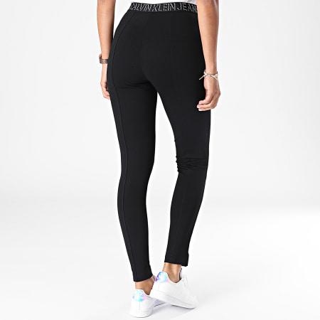 Calvin Klein Jeans - Pantalon Skinny Femme 6586 Noir