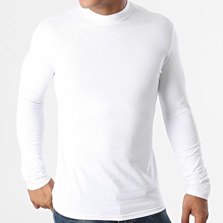 Frilivin - Tee Shirt Manches Longues BM1311 Blanc