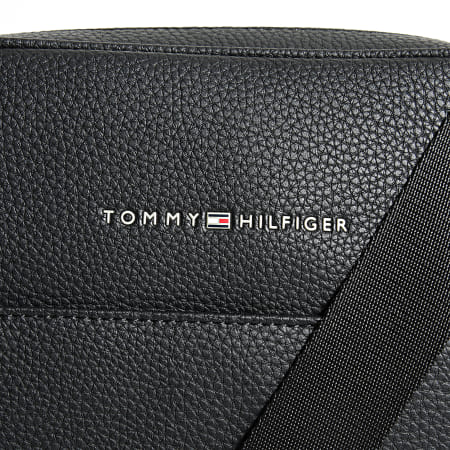 Tommy Hilfiger - Sacoche Essential PU Reporter 7997 Noir