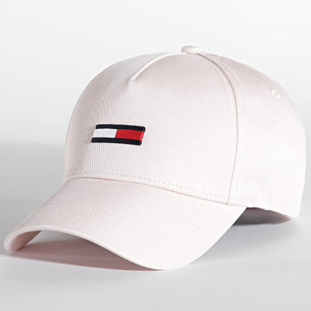 Tommy Jeans - Casquette Flag Cap 0708 Rose