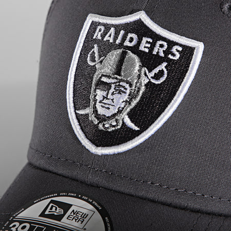 New Era - Casquette Fitted 39Thirty Gray Pop 60141612 Raiders Gris Anthracite