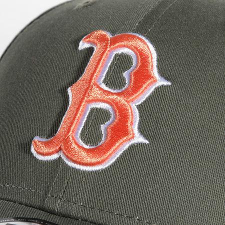 New Era - Casquette 9Forty League Essential 60141859 Boston Red Sox Vert Kaki