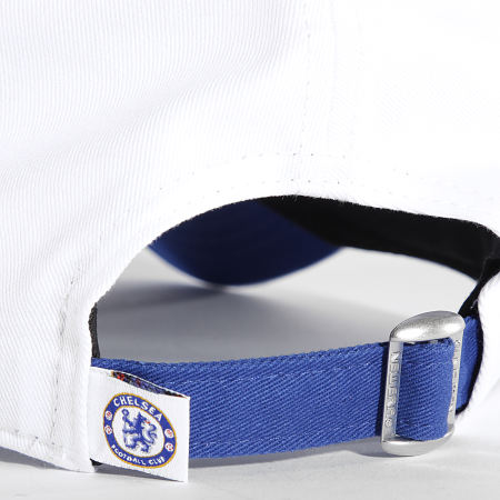 New Era - Casquette Cotton Wordmark 60143380 Chelsea FC Bleu Roi Blanc